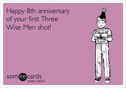 Happy 8th anniversary  of your first Three  Wise Men shot!