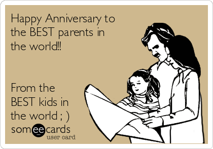 happy anniversary ecards for parents