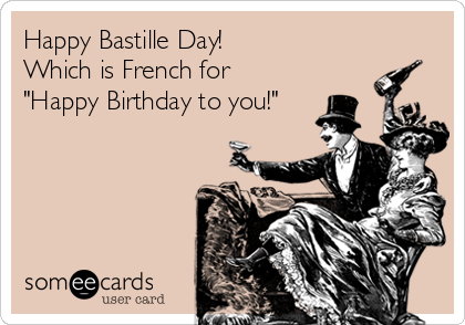 Which Is French For Happy Birthday To
