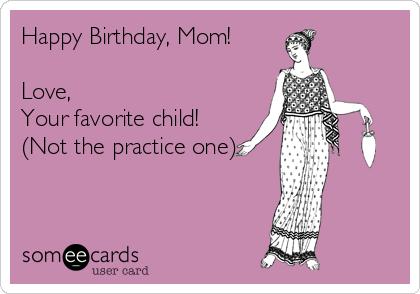Happy Birthday Mom From Son Ecard