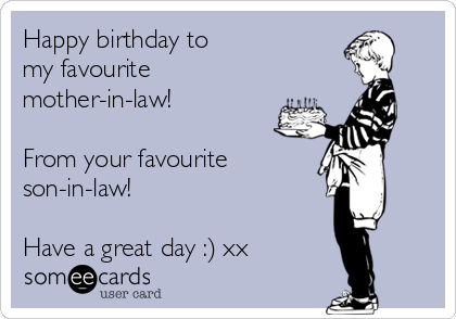 Todays News Entertainment Video Ecards and more at Someecards – Happy Birthday Son in Law Cards