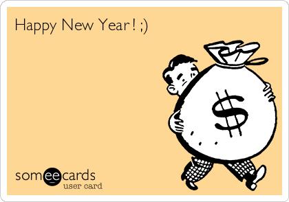 Happy New Year ! ;)