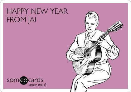 HAPPY NEW YEAR FROM JAI