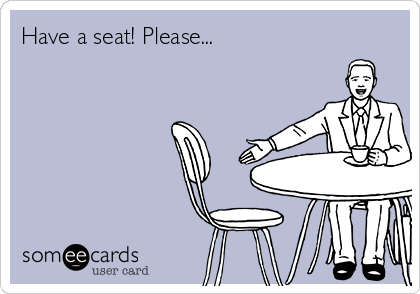 Have a seat! Please... | Soccer Ecard