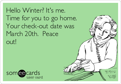 Image result for go home winter