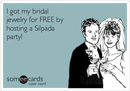 I got my bridal jewelry for FREE by hosting a Silpada party!
