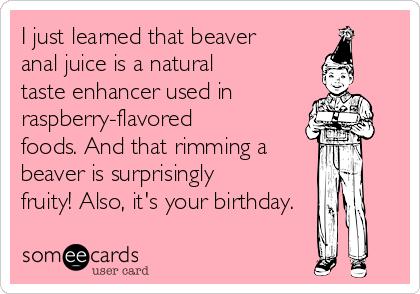 Happy anal birthday