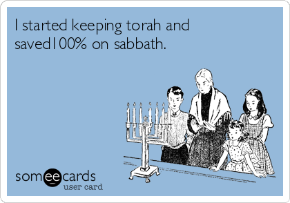 I started keeping torah and saved100% on sabbath.