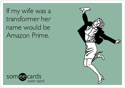 Image result for amazon prime meme