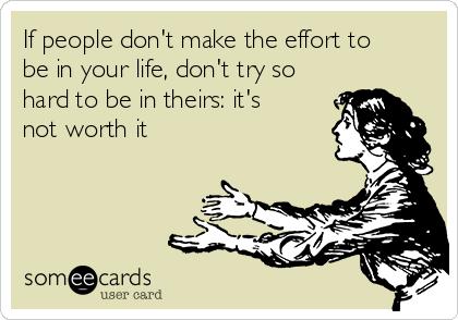 do effort or make effort