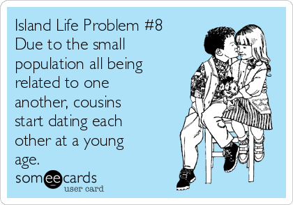 Cousins dating each other