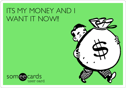 its my money and i want it now fantasy sports ecard