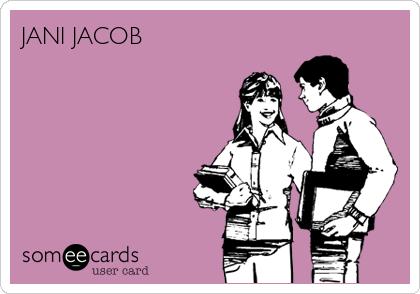 JANI JACOB
