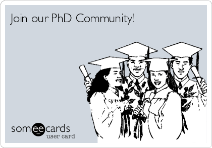 Join our PhD Community!