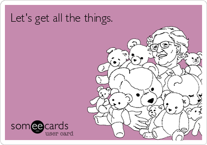 Let's get all the things.