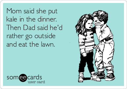 Dad wants to eat the lawn | Cheesy Pennies