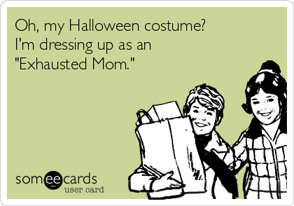 f7057ef6cb77 Oh, my Halloween costume? I'm dressing up as an