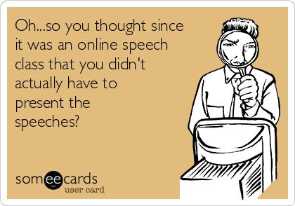 speeches for speech class