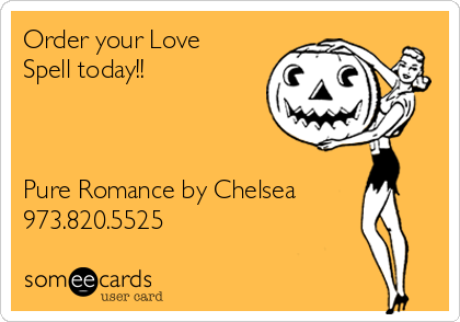 Order your Love Spell today!!    Pure Romance by Chelsea 973.820.5525