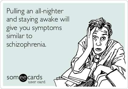 Pulling an all nighter?
