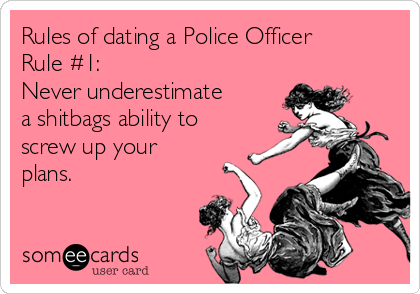 Reasons to date a police officer