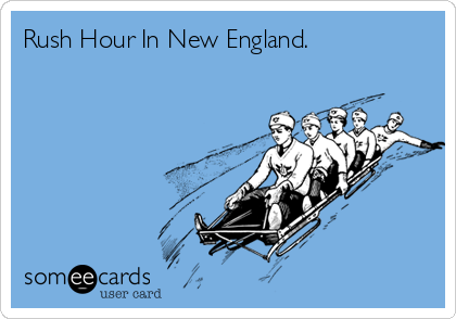 Rush Hour In New England.