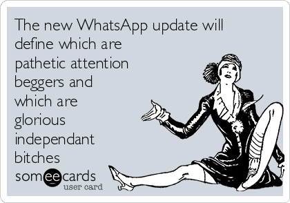 App bitches whats WhatsApp Dating