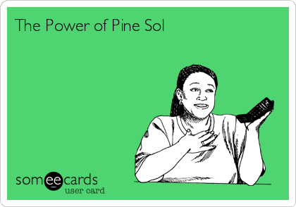 The Power of Pine Sol