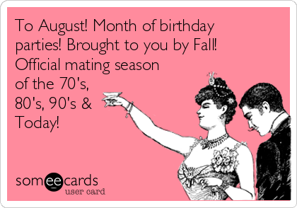 Month Of Birthday Parties Brought To You By Fall Official Mating