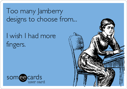 Too many Jamberry designs to choose from...  I wish I had more fingers.