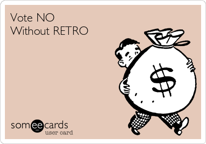 Vote NO Without RETRO