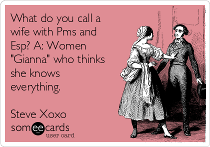 When does a woman pms