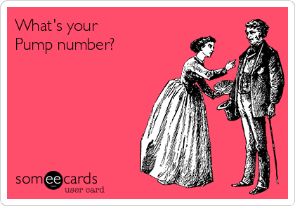 What's your Pump number?