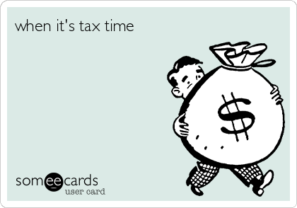 when it's tax time