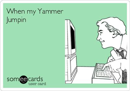 When my Yammer Jumpin