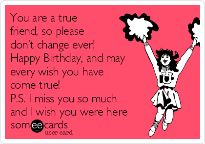 Finally Friday Someecards You Are A True Friend,...
