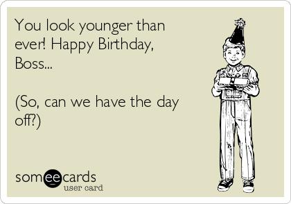 Happy Birthday Boss So