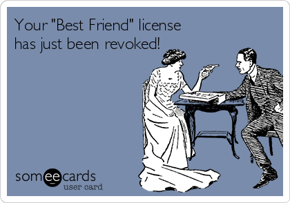 Best friend ecard